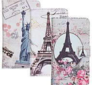 Eiffel Tower Pattern PU Leather Phone Case for Nokia N625