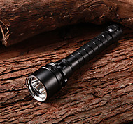 Rechargeable 1-Mode 3xCree XM-L2 U2 Waterproof Diving FlashLight(2x18650,3800LM)
