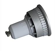 Lâmpadas de Foco de LED Regulável GU10 3W 280lm LM 3000-3200K/6000-6500K K Branco Quente / Branco Frio 1 COB 1 pç AC 100-240 V