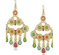 Drop Earrings Women's Alloy Earring Multi-stone