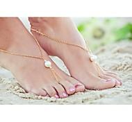 shixin® klassischen Perlenlegierung barfuß Sandelholz (golden, silbern) (1 Stück)