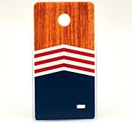 Wooden Carpet Dreieck Muster Hülle für Nokia X