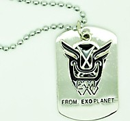 EXO D.O. Deep Force Alloy Necklace XOXO MV