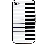 Electronic Organ Design Open-face Case for iPhone 4/4S