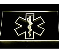 EMS Paramedic Medical Services Neon Light Sign