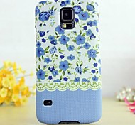 Glow in The Dark Country Style Flower Painting Case for Samsung Galaxy S5 I9600 (Assorted Colors)