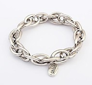 European and American Big Fashion Metal Bracelet