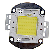 DIY 50W High Power 4000-5000lm Cool White Luz Módulo LED integrado (32-35V)