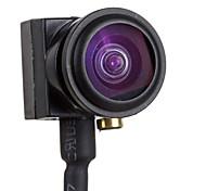 "Mini 1/4"" CMOS 600TVL Wide Angle Fish Eye Lens FPV Camera - Black (NTSC)"