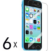 [6-Pack] Premium High Definition Clear Screen Protectors for iPhone 5C