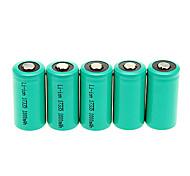 1000mAh 17335 de la batería (5 x)
