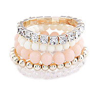 Fashion Color Temperament Multilayer Bracelet