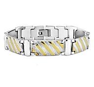 Оптовая продажа ювелирных изделий заявлении браслеты Браслеты 316L нержавеющая Мужская стальной браслет