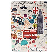 I Love London and Big Ben Pattern Full Body Leather and Plastic Hard Case with Stand for iPad Air