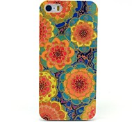 Yellow Sunflower Pattern Hard Case for iPhone 5/5S