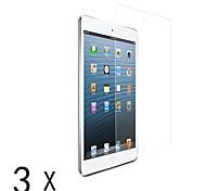 claro protector ultra-lcd pantalla guardia para Mini iPad 3 Mini iPad 2 iPad mini (3 piezas)