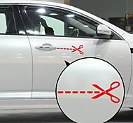 Scissor Pattern Decorative Car Sticker