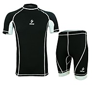 Running Clothing Sets/Suits / Compression Clothing Men's Breathable / Quick Dry / Anatomic Design / Wearable / Antistatic / Compression