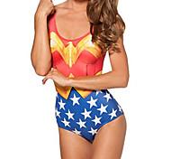 Wonder Woman Traje de baño de las mujeres de Spandex
