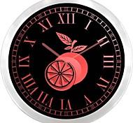 nc0958 Orange Fruit Shop Neon Sign LED Wall Clock