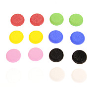 16pcs Colorful Nonslip Silicone cap PS4 Controller