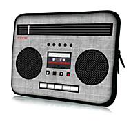"Radio Pattern Laptop Sleeve Case for 11.6"" MacBook Air"