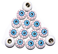 1 Pair Popular Eye Style Car Decoration for Motorcycle Dirt Pit Bike Tire Valve Cover ATV