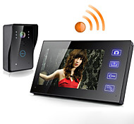 Wireless 7 Inch Touch Screen Monitor Video Door Phone