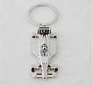 Beautiful Guitar Cool On The Streets of Personality F1 Stainless Steel Key Chain