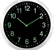 nc0707 3D Engraved Neon Sign LED Wall Clock