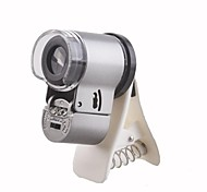 Apexel 65X Zoom LED Clip-On Microscope Magnifier Lens with Clip for Mobile Phone Such as iPhone/Samsung/HTC