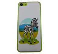The Beautiful Zebra Pattern PC Back Case for iPhone 5C