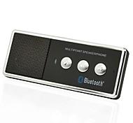 Recargable Bluetooth V4.0 teléfono celular kit de coche manos libres portátil de altavoces
