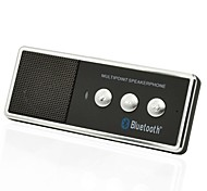 Ricaricabile portatile Bluetooth V4.0 cellulare Vivavoce Car Kit