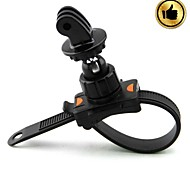 HighPro Bicycle Motorcycle Handlebar Zip-Tie Strap Mount for GoPro Hero / Hero2 / Hero3 - Black