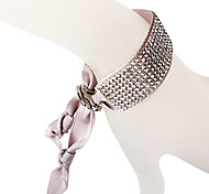 The Eight Rows Diamond Gray Bracelet