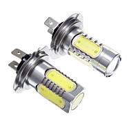 H7 6W White Light LED for Headlight Bulb