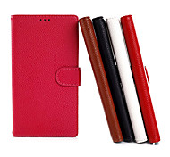 Protective Flip-open PU Leather Case for Nokia 1520
