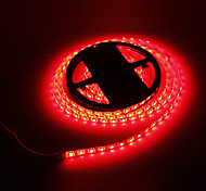 Lampe LED Strip 5M 72W 300x5050SMD Red Light étanche (12V DC)