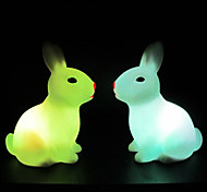Rabbit Rotocast Color-changing Night Light