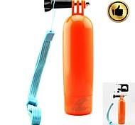 HGYBEST Bobber Floating Handheld Stick w/ Wristband for GoPro 1 / 2 / 3 / 3+ - Yellow/orange