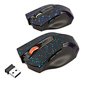 Snow Dot 2.4G Wireless Optical Mouse Gaming Mouse 6 Keys 1600Dpi