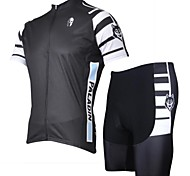 PALADIN Men's Cycling Clothing Sets/Suits Short Sleeve Bike Spring / Summer Breathable / Ultraviolet Resistant / Quick Dry OthersS / M /