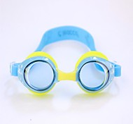 Children's  Can Adjust Swimming Glasses Anti Fog and Anti Ultraviolet with Earplugs Blue