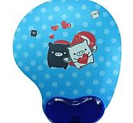 Shenguangjukui Mouse Pad Blue Pig