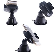 Rotate 360 Degrees Universal Windscreen Car Mount Holder for iPhone / GPS / MP4 + More (Black)
