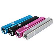 Batería externa 2200mAh forma de cigarro para iPhone6 / 6plus / 5s samsung s4 / 5 HTC y otros dispositivos móviles