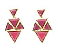 Fashion Triangle Chandlier Earrings