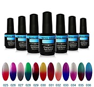 1Pcs MINGSHAN 15ml Chameleon Color Changing UV Gel Polish Assorted Colors No.25-36