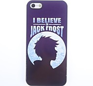 I Believe in Jack Caso duro gelo design in alluminio per iPhone 5/5S